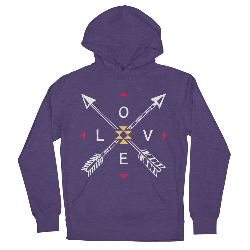 Native Love Men's French Terry Pullover Hoody by MackStudios's Artist Shop