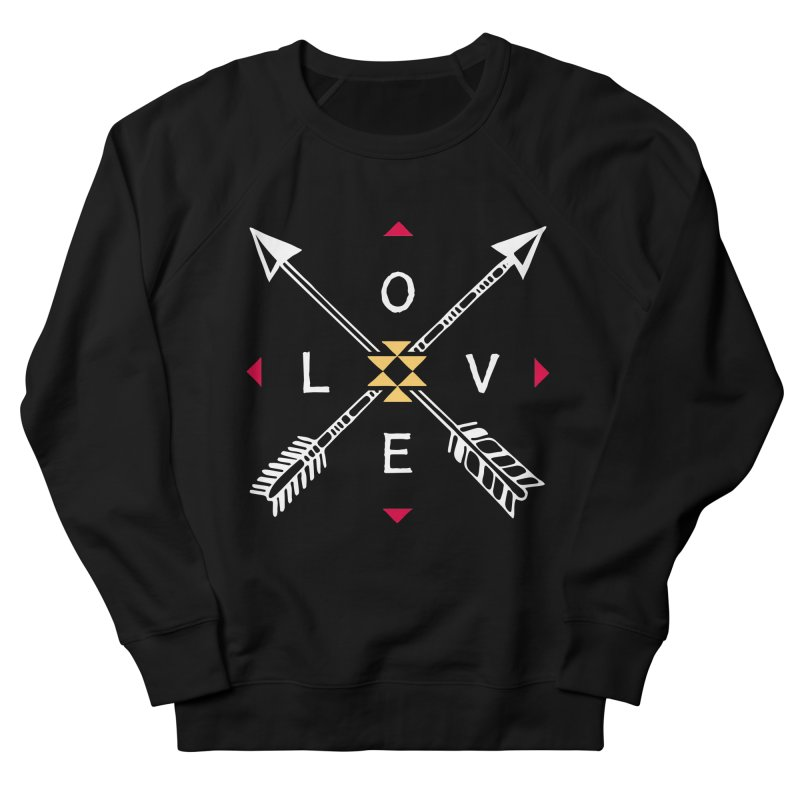 Native Love Women's French Terry Sweatshirt by MackStudios's Artist Shop