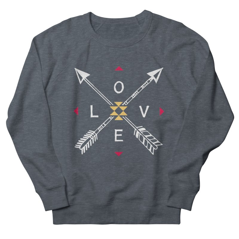 Native Love Men's French Terry Sweatshirt by MackStudios's Artist Shop