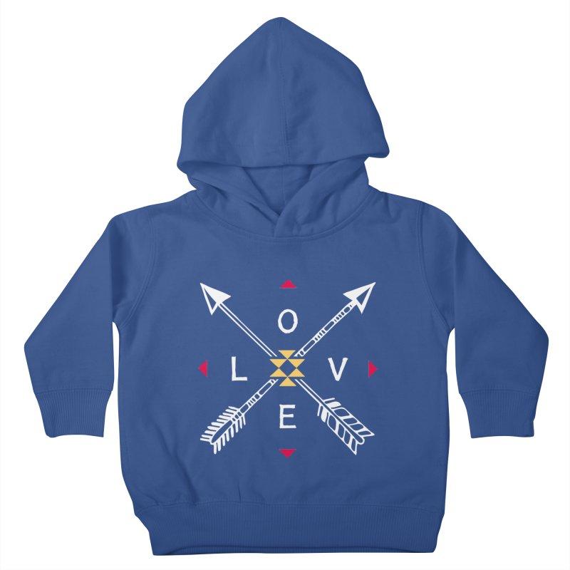 Native Love Kids Toddler Pullover Hoody by MackStudios's Artist Shop