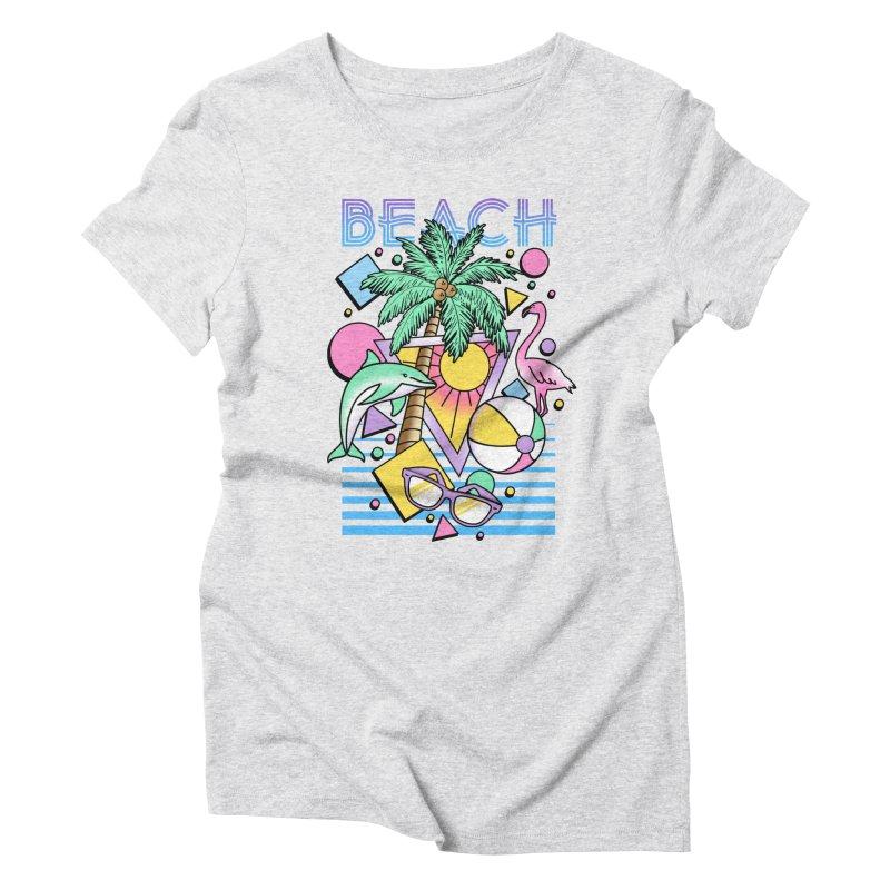 80's Beach  Women's  by MackStudios's Artist Shop