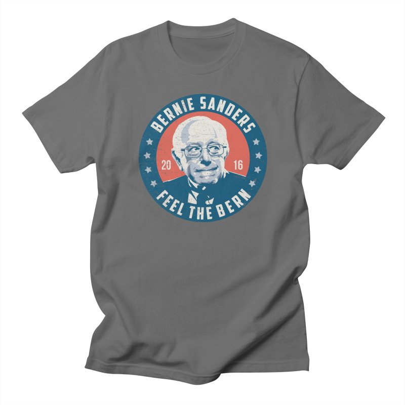 Bernie Sanders For President Men's Regular T-Shirt by MackStudios's Artist Shop