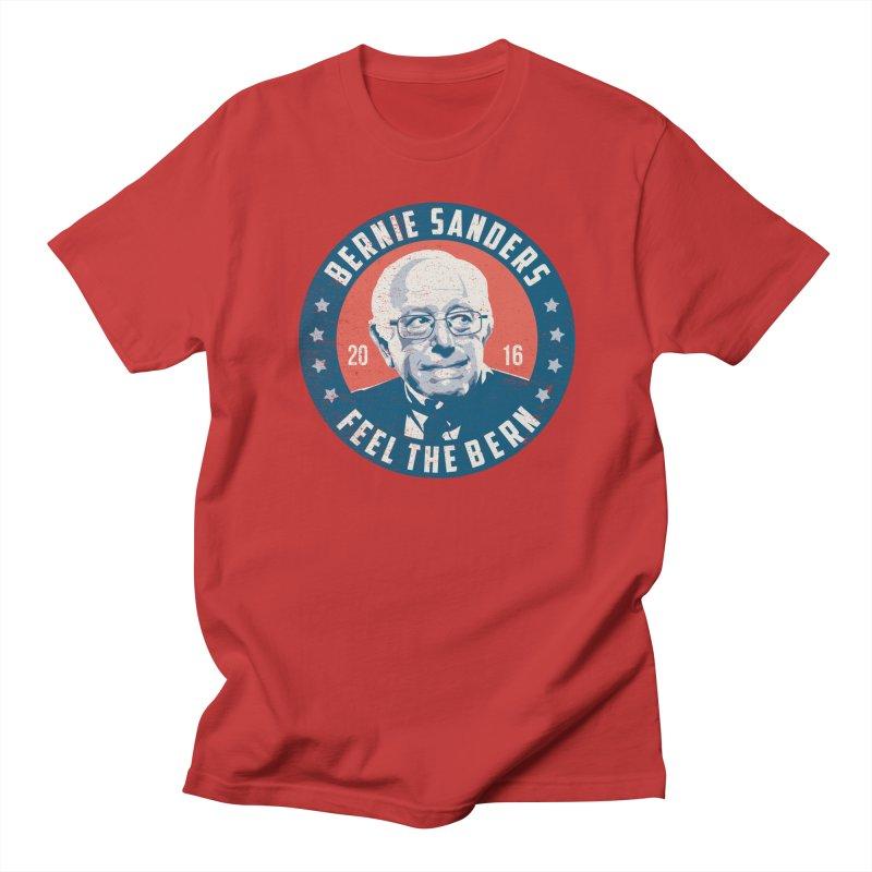 Bernie Sanders For President Men's T-shirt by MackStudios's Artist Shop