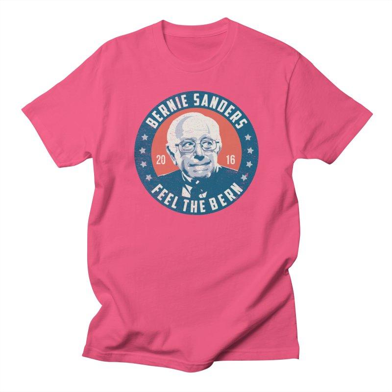 Bernie Sanders For President Men's Regular T-Shirt by MackStudios's Artist Shop