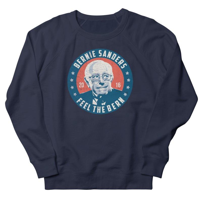 Bernie Sanders For President Men's French Terry Sweatshirt by MackStudios's Artist Shop