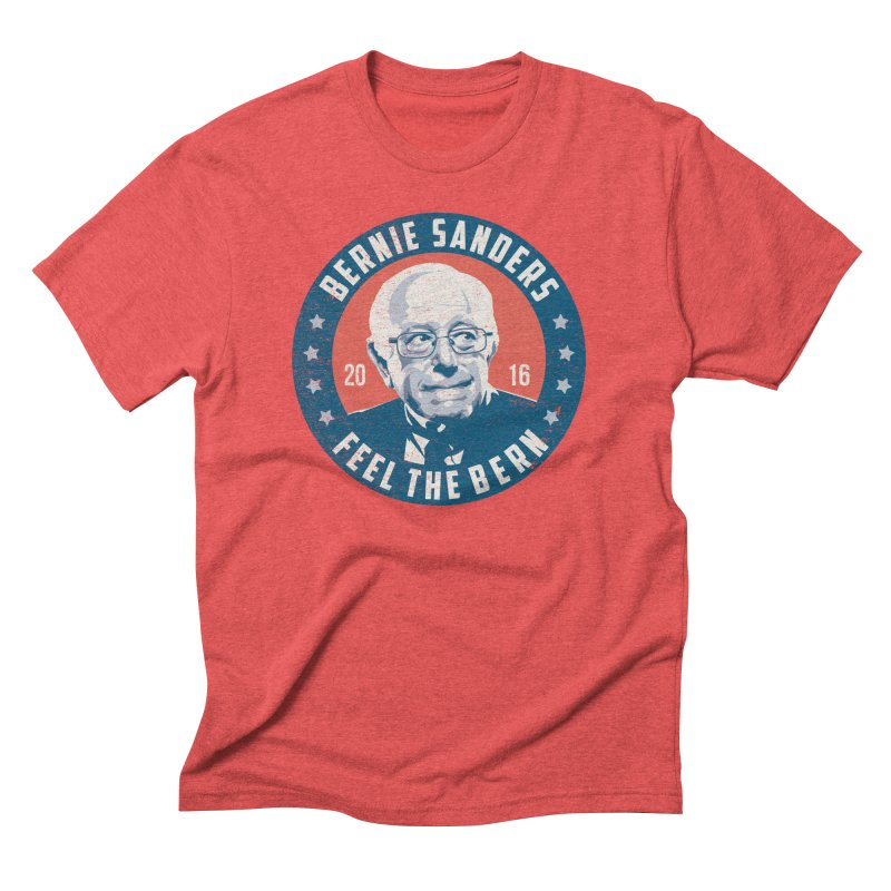 Bernie Sanders For President Men's Triblend T-Shirt by MackStudios's Artist Shop