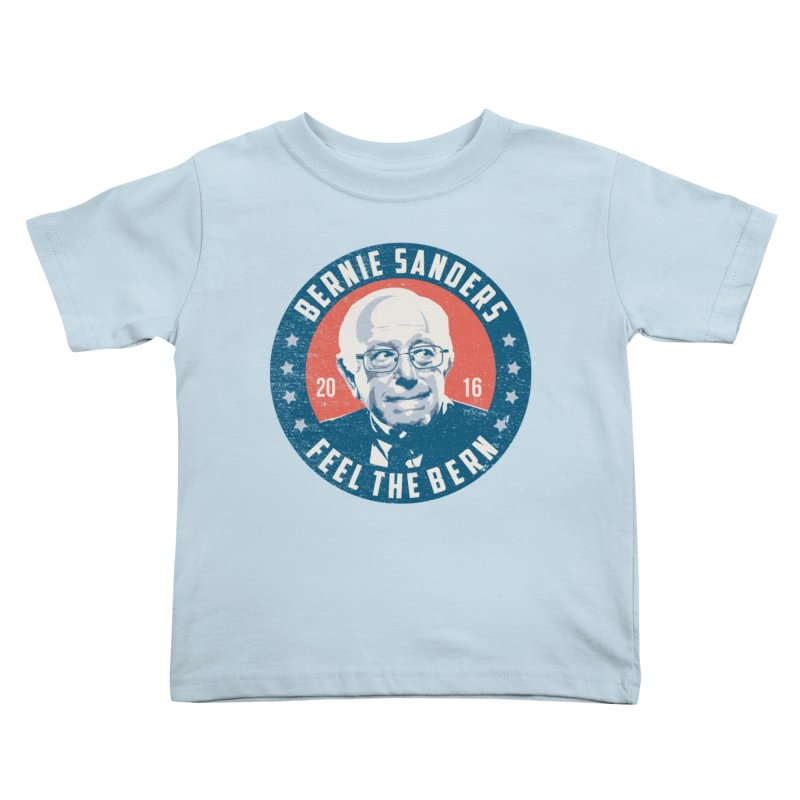 Bernie Sanders For President Kids Toddler T-Shirt by MackStudios's Artist Shop