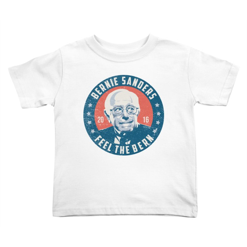 Bernie Sanders For President Kids Toddler T-Shirt by MackStudios's Artist Shop