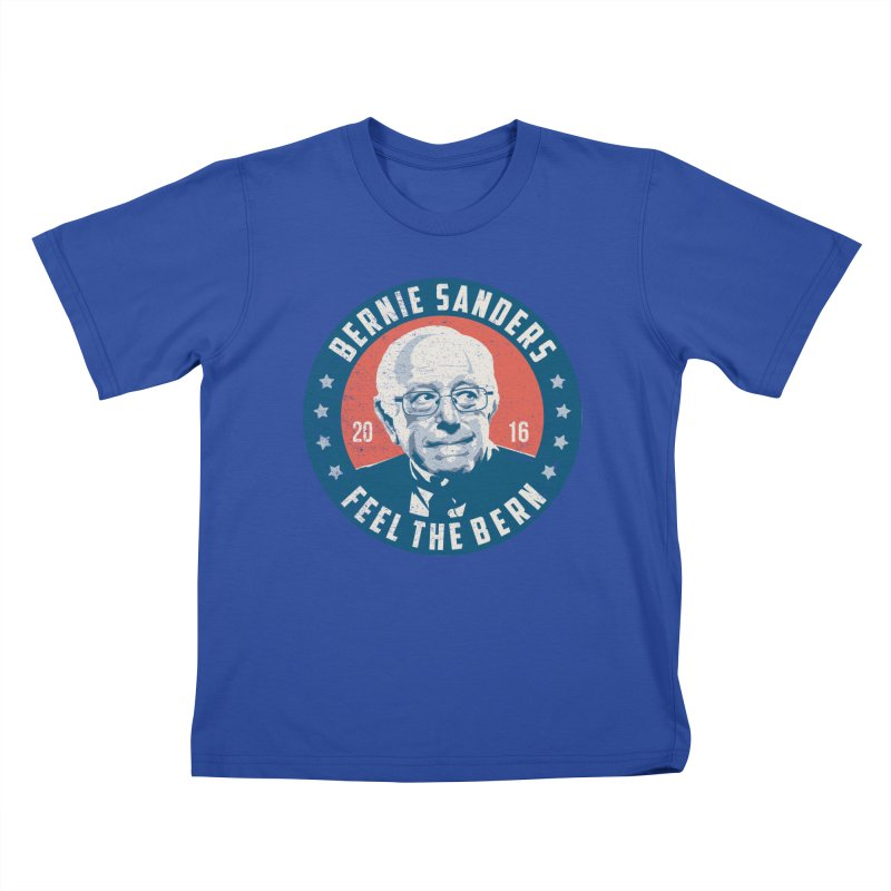 Bernie Sanders For President Kids T-Shirt by MackStudios's Artist Shop