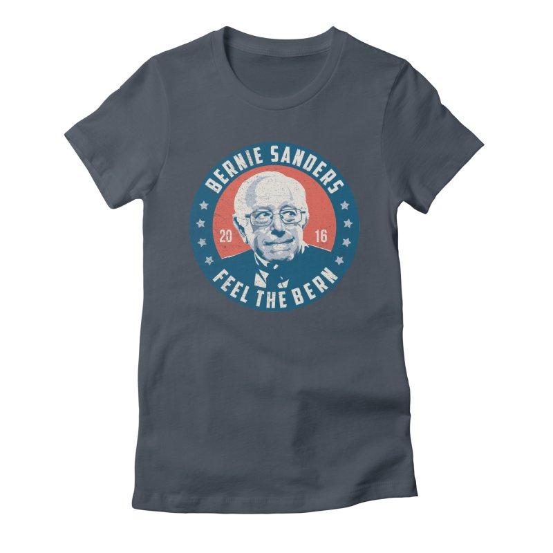 Bernie Sanders For President Women's T-Shirt by MackStudios's Artist Shop