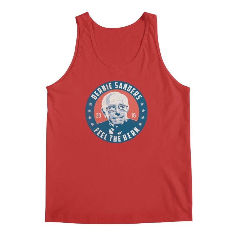 Bernie Sanders For President Men's Regular Tank by MackStudios's Artist Shop