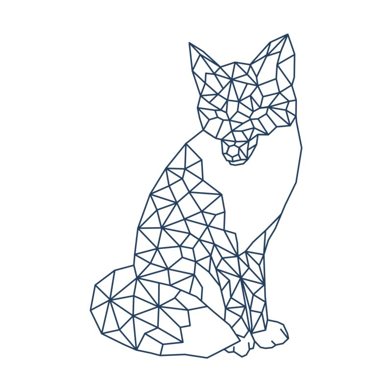 Geometric Fox by MackStudios's Artist Shop