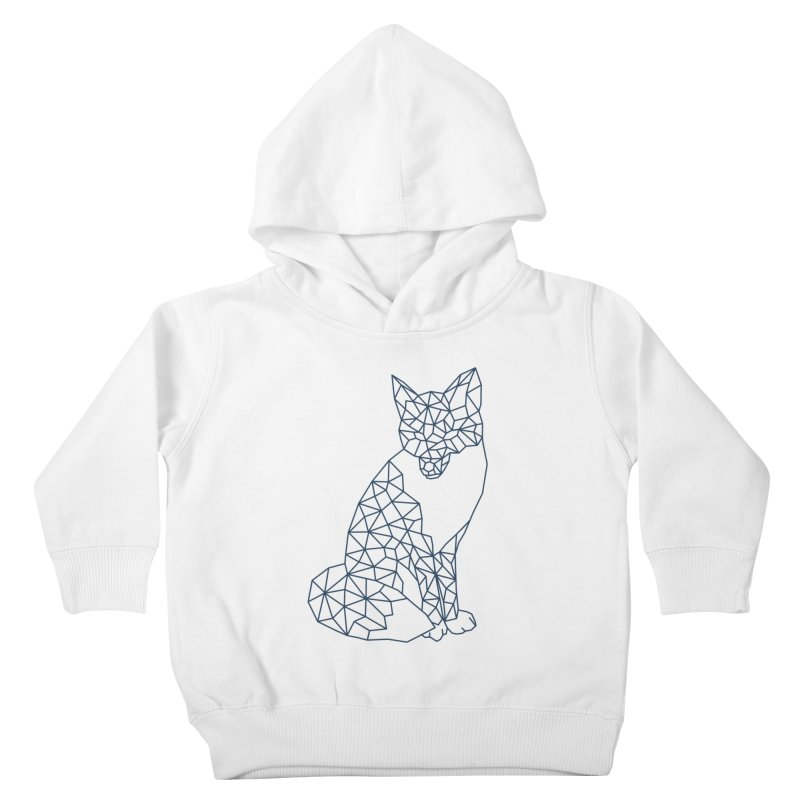 Geometric Fox Kids Toddler Pullover Hoody by MackStudios's Artist Shop