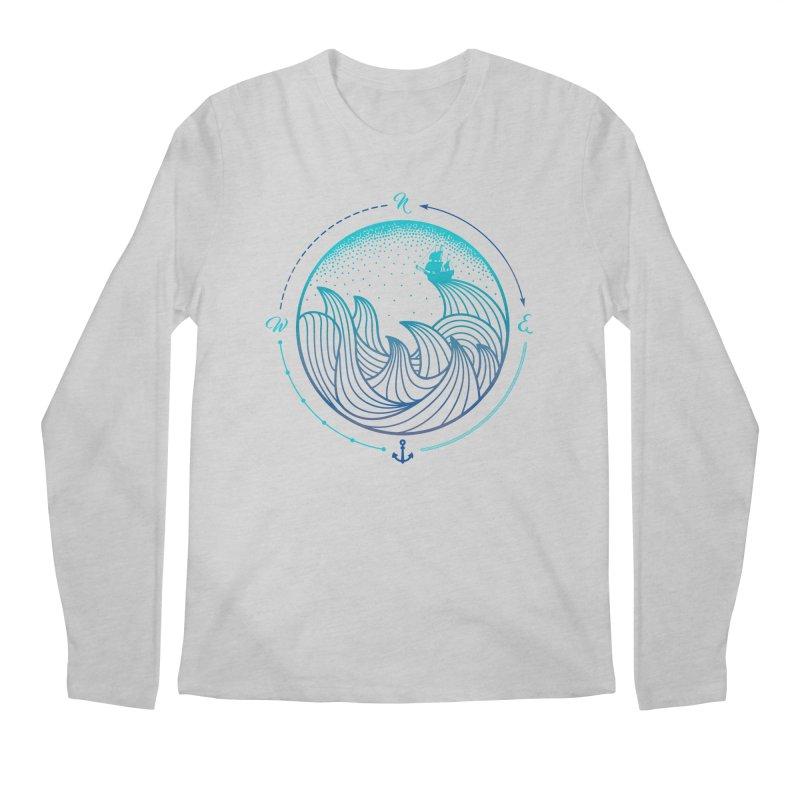 Lost At Sea Men's Regular Longsleeve T-Shirt by MackStudios's Artist Shop