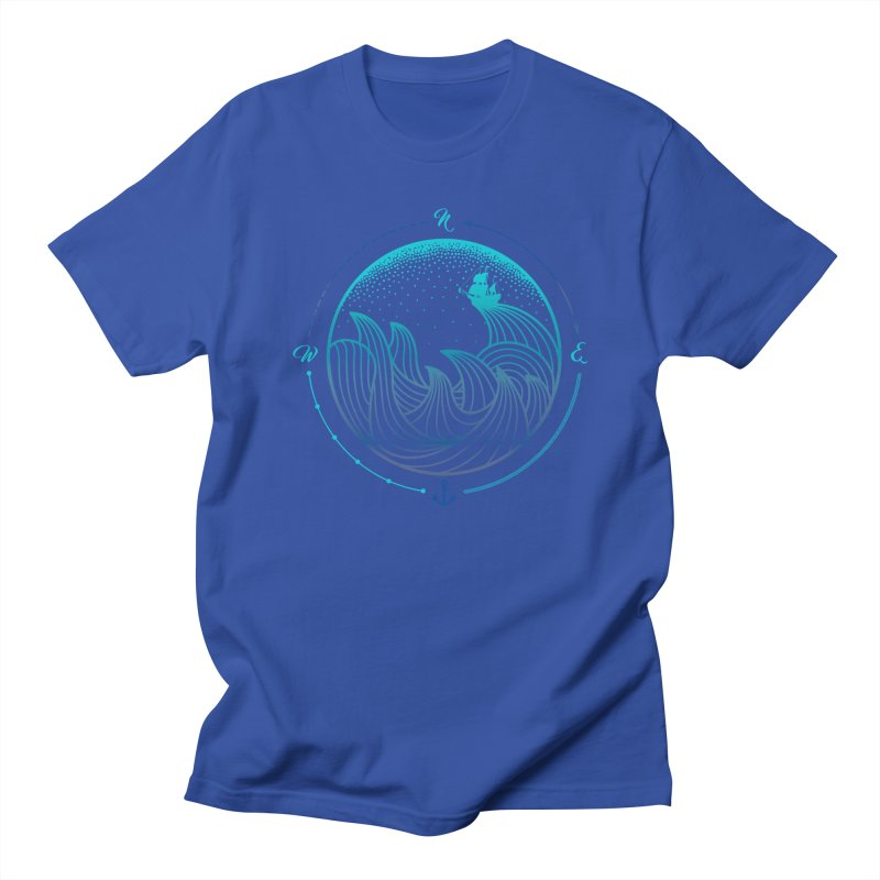 Lost At Sea Men's Regular T-Shirt by MackStudios's Artist Shop