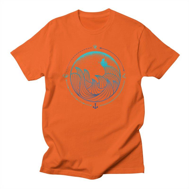 Lost At Sea Men's T-Shirt by MackStudios's Artist Shop