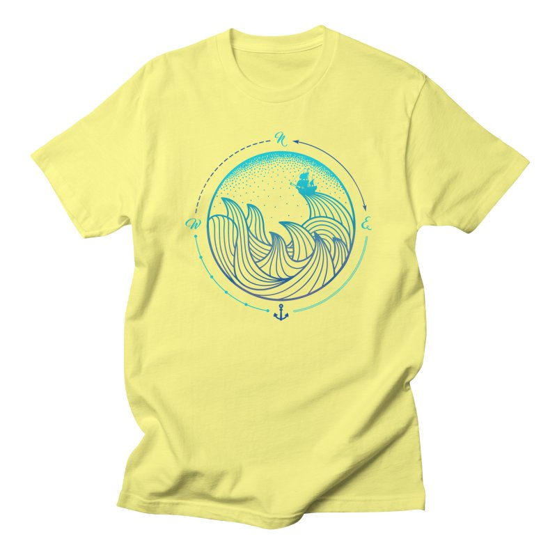 Lost At Sea Men's Regular T-Shirt by MackStudios's Artist Shop