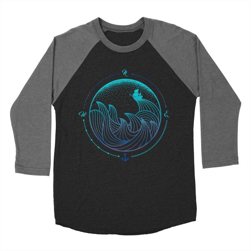 Lost At Sea Women's Baseball Triblend Longsleeve T-Shirt by MackStudios's Artist Shop