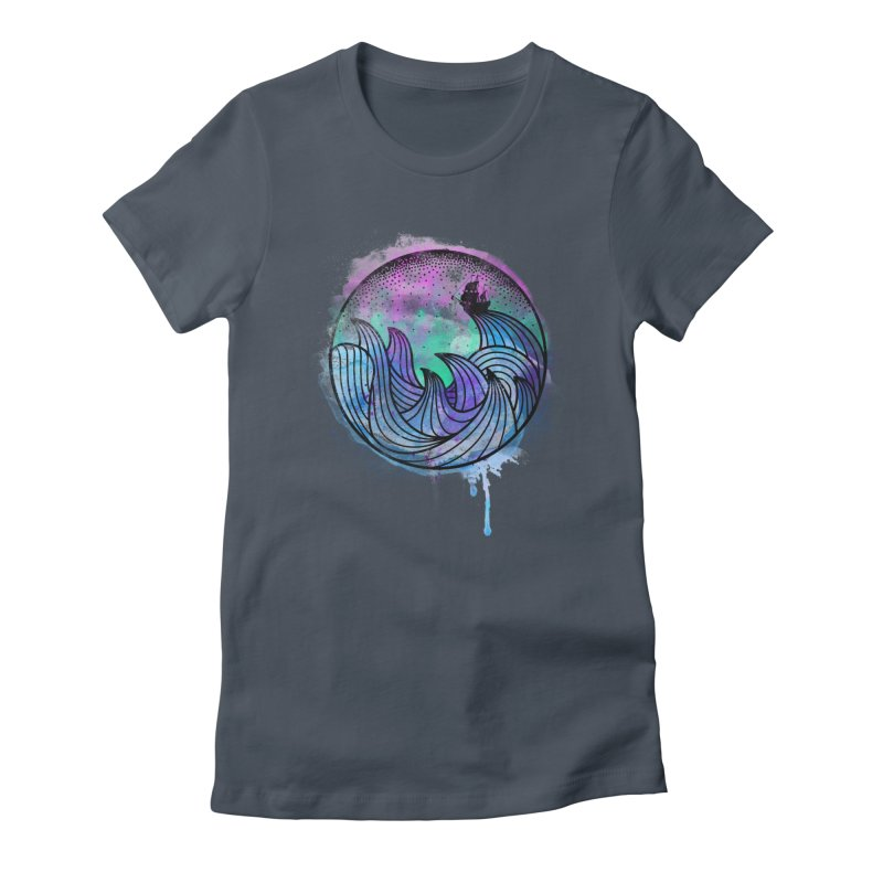Watercolor Lost At Sea Women's T-Shirt by MackStudios's Artist Shop
