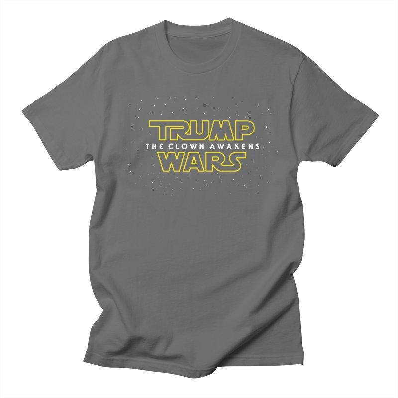 Trump Wars The Clown Awakens Men's T-Shirt by MackStudios's Artist Shop