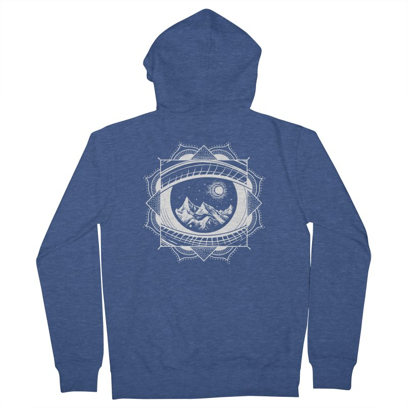 Himalayan Mandala Dream Women's Zip-Up Hoody by MackStudios's Artist Shop