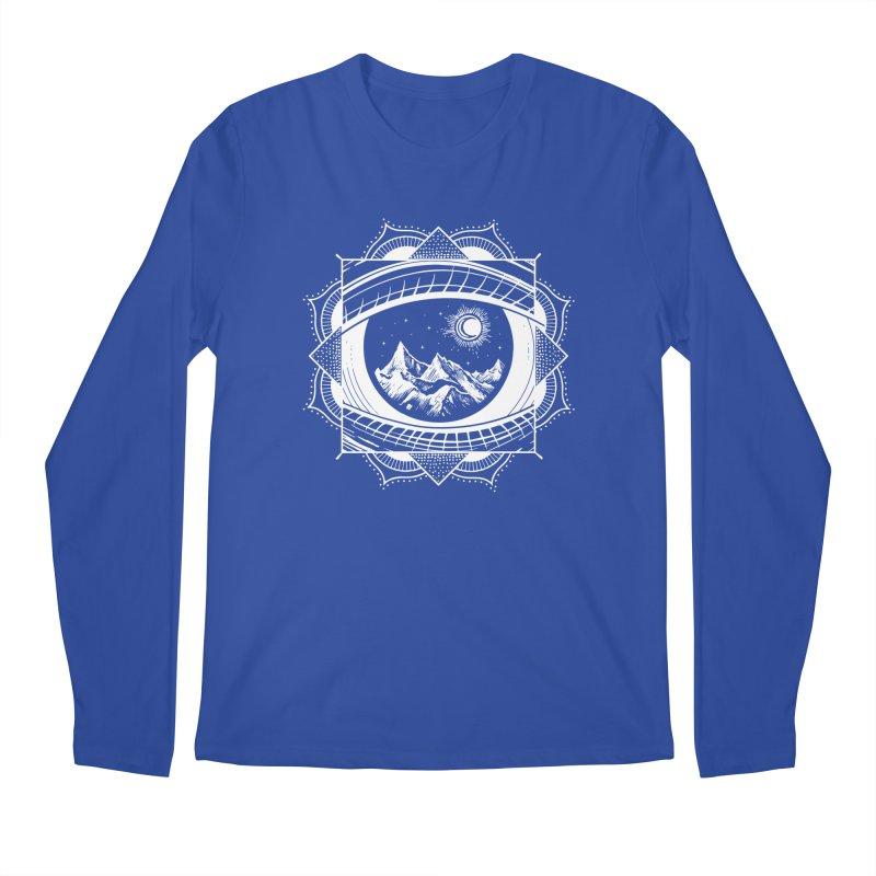 Himalayan Mandala Dream Men's Regular Longsleeve T-Shirt by MackStudios's Artist Shop