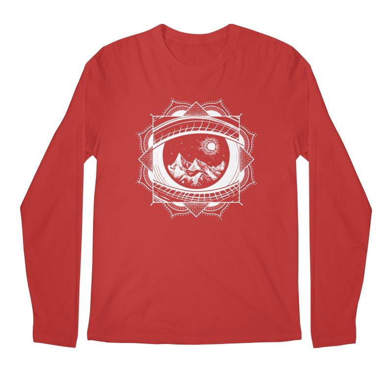Himalayan Mandala Dream Men's Longsleeve T-Shirt by MackStudios's Artist Shop
