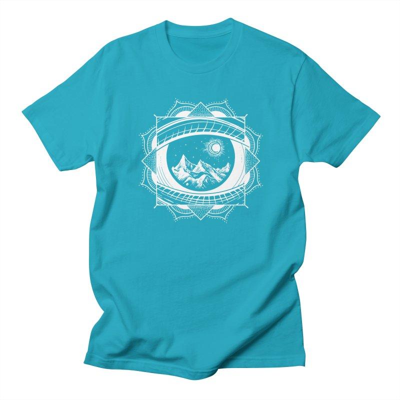 Himalayan Mandala Dream Men's T-Shirt by MackStudios's Artist Shop