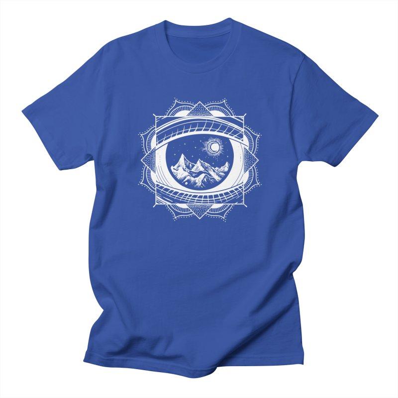Himalayan Mandala Dream Men's Regular T-Shirt by MackStudios's Artist Shop