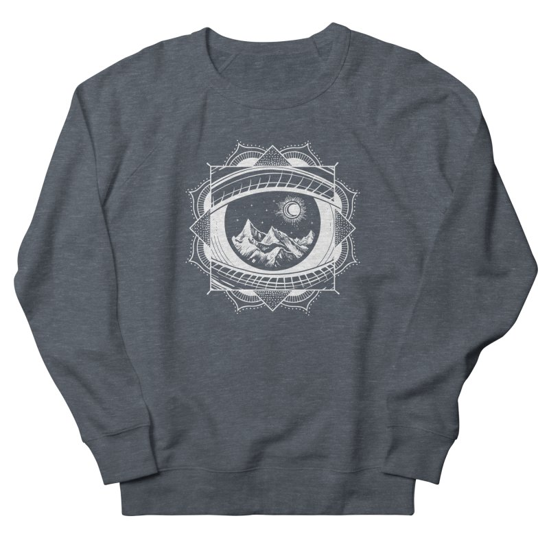 Himalayan Mandala Dream Men's French Terry Sweatshirt by MackStudios's Artist Shop