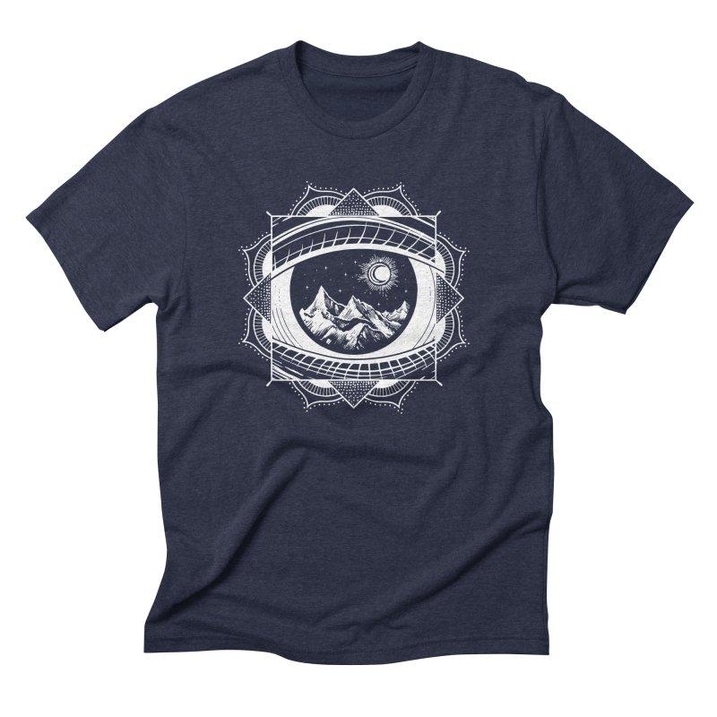 Himalayan Mandala Dream Men's Triblend T-shirt by MackStudios's Artist Shop