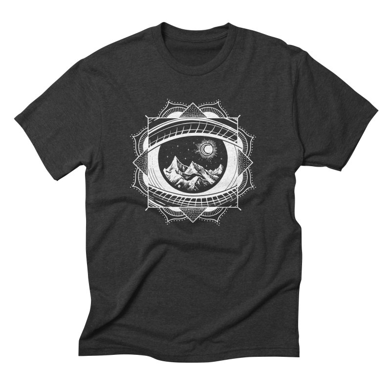 Himalayan Mandala Dream Men's Triblend T-Shirt by MackStudios's Artist Shop