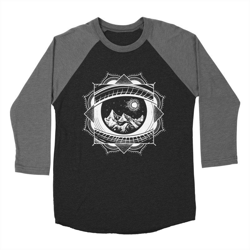 Himalayan Mandala Dream Men's Baseball Triblend T-Shirt by MackStudios's Artist Shop