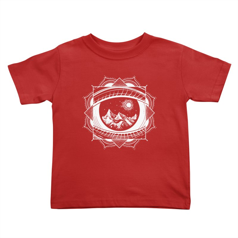 Himalayan Mandala Dream Kids Toddler T-Shirt by MackStudios's Artist Shop