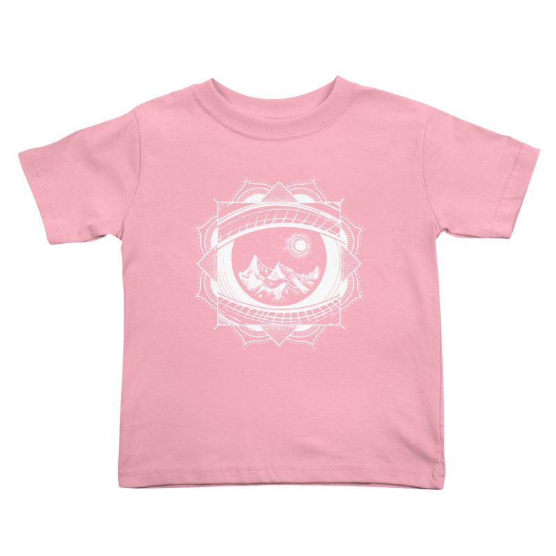 Himalayan Mandala Dream Kids Toddler T-Shirt by MackStudios's Artist Shop
