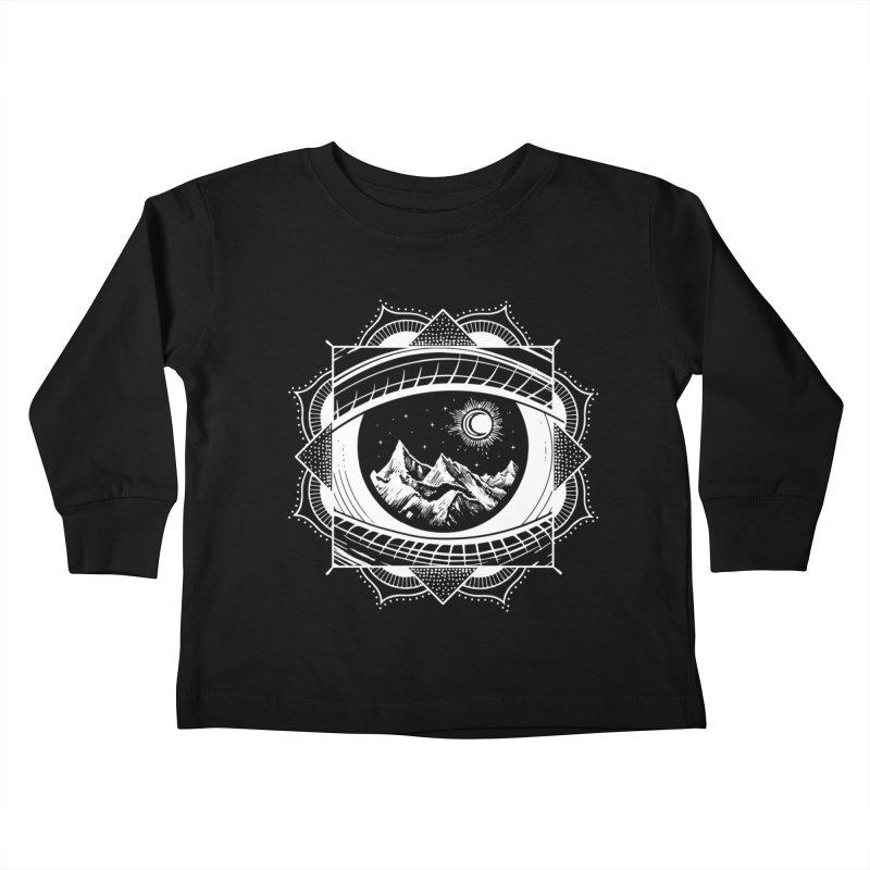 Himalayan Mandala Dream Kids Toddler Longsleeve T-Shirt by MackStudios's Artist Shop