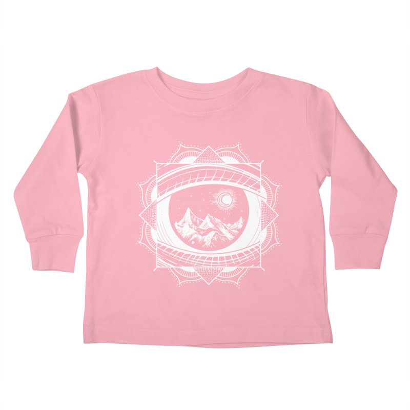 Himalayan Mandala Dream Kids Toddler Longsleeve T-Shirt by MackStudios's Artist Shop