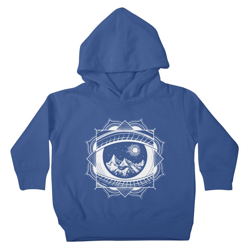 Himalayan Mandala Dream Kids Toddler Pullover Hoody by MackStudios's Artist Shop