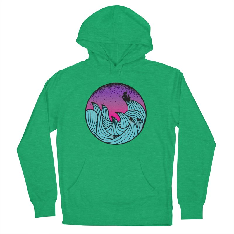 Los At Sea Full Color Women's Pullover Hoody by MackStudios's Artist Shop