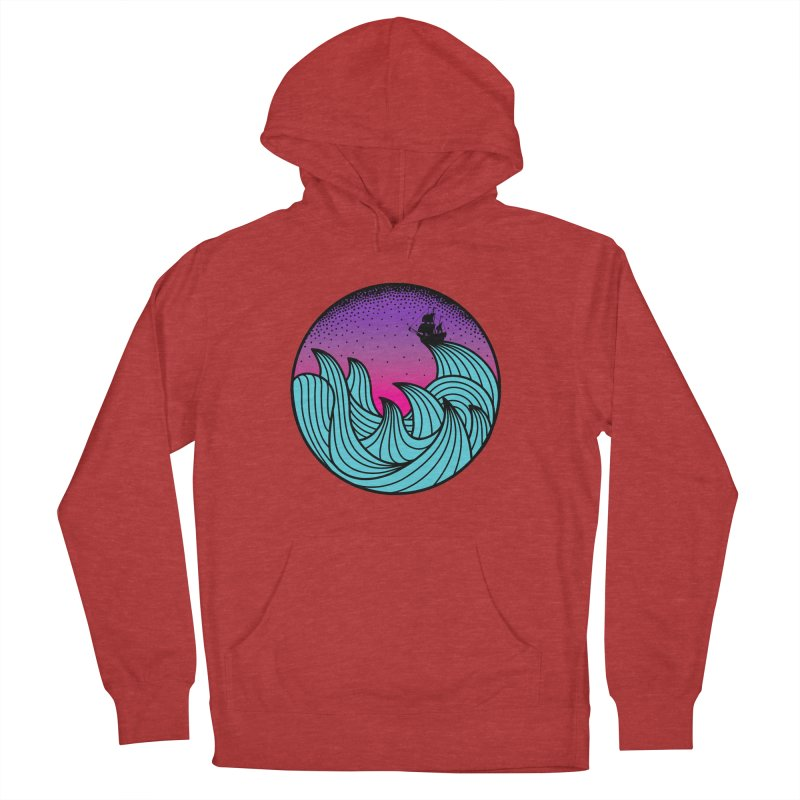Los At Sea Full Color Women's French Terry Pullover Hoody by MackStudios's Artist Shop