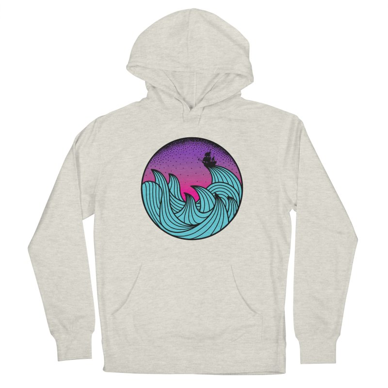 Los At Sea Full Color Men's French Terry Pullover Hoody by MackStudios's Artist Shop