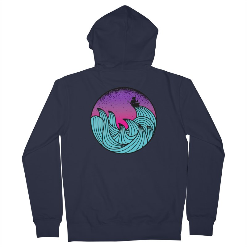 Los At Sea Full Color Women's Zip-Up Hoody by MackStudios's Artist Shop