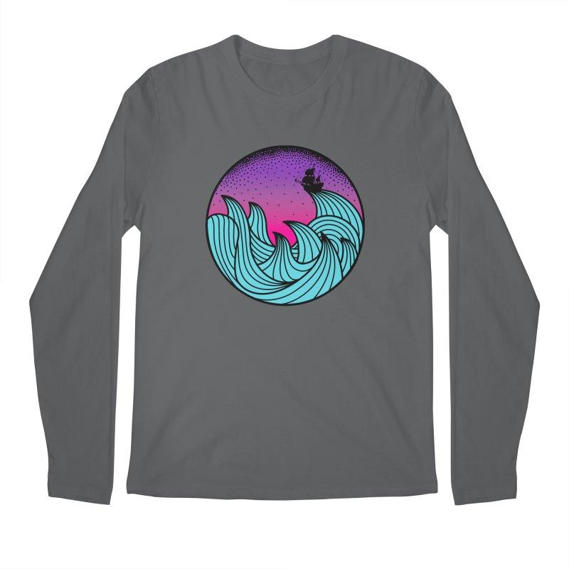 Los At Sea Full Color Men's Regular Longsleeve T-Shirt by MackStudios's Artist Shop