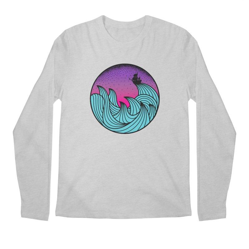 Los At Sea Full Color Men's Longsleeve T-Shirt by MackStudios's Artist Shop