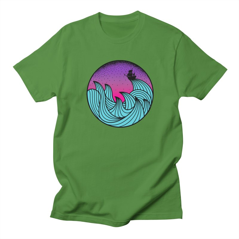 Los At Sea Full Color Men's Regular T-Shirt by MackStudios's Artist Shop