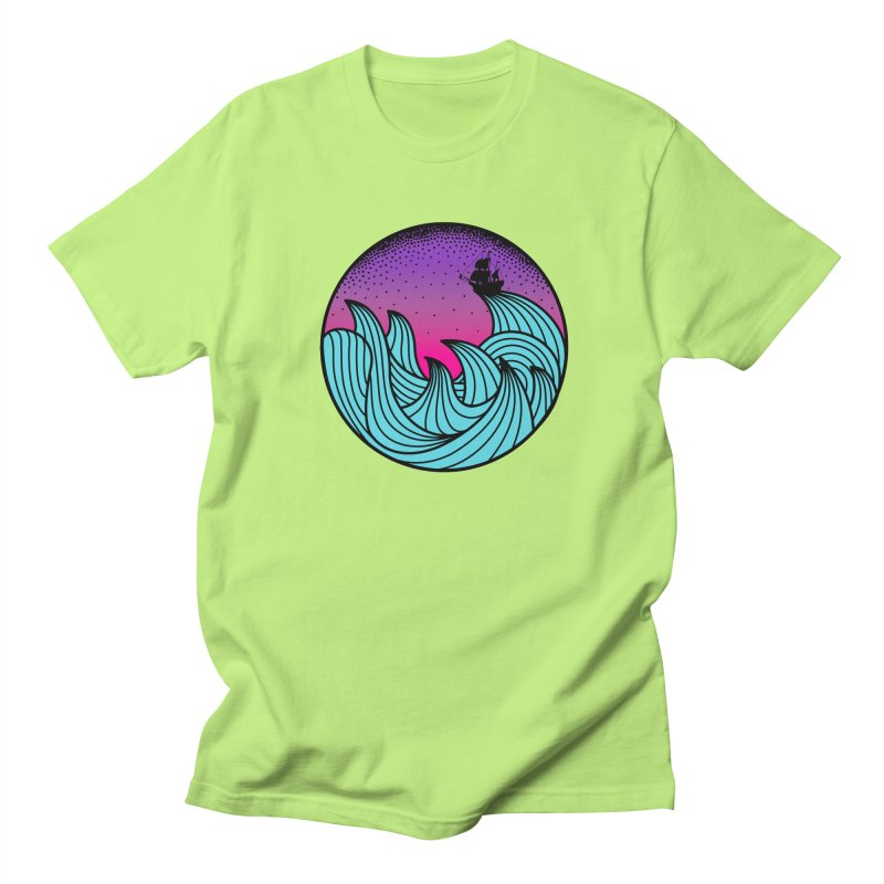 Los At Sea Full Color Men's Regular T-Shirt by MackStudios's Artist Shop