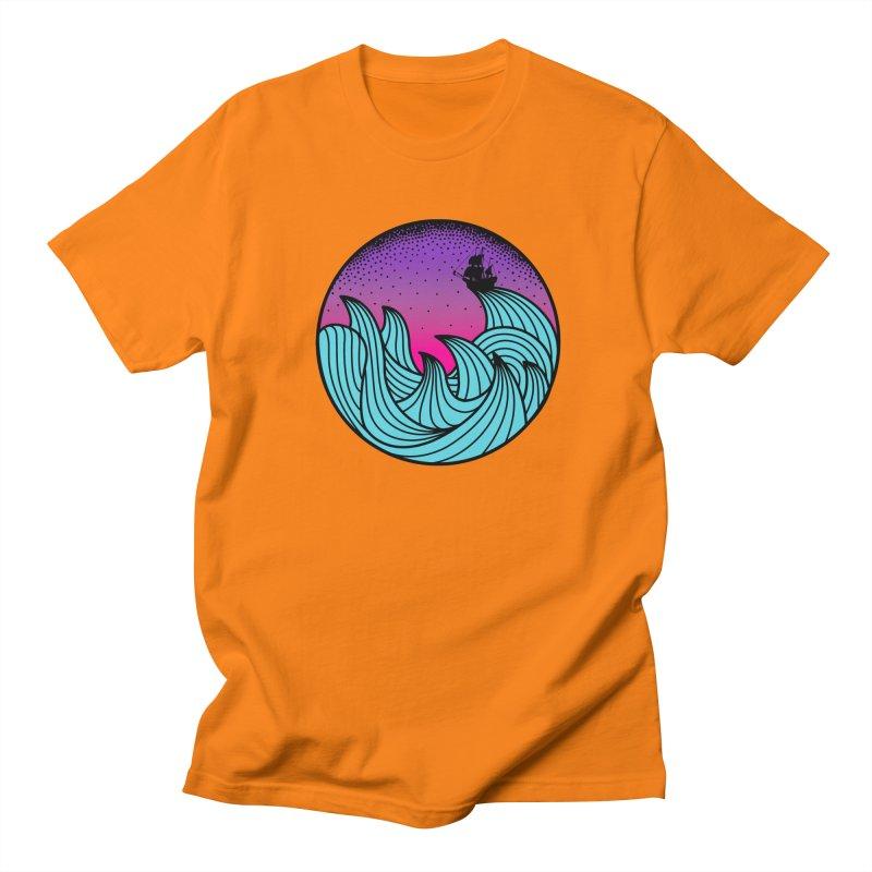 Los At Sea Full Color Men's T-shirt by MackStudios's Artist Shop