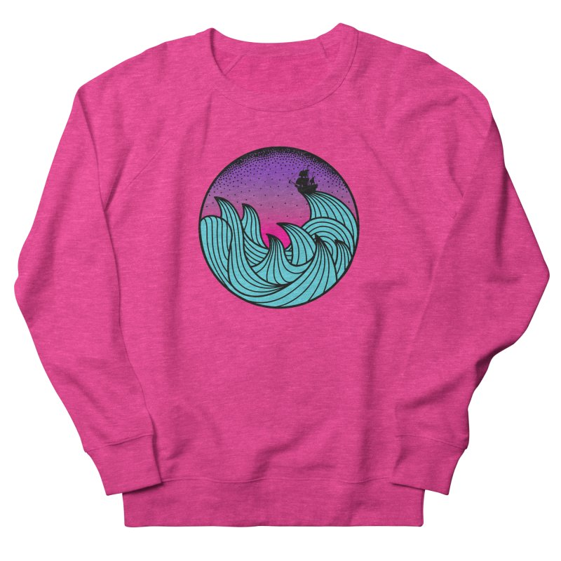 Los At Sea Full Color Women's Sweatshirt by MackStudios's Artist Shop