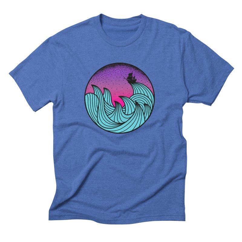 Los At Sea Full Color Men's Triblend T-Shirt by MackStudios's Artist Shop