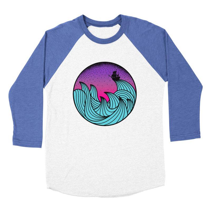 Los At Sea Full Color Women's Baseball Triblend Longsleeve T-Shirt by MackStudios's Artist Shop